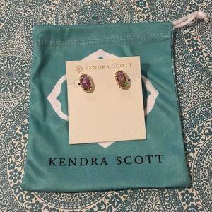 Kendra Scott Ellie Earring Opal NWOT